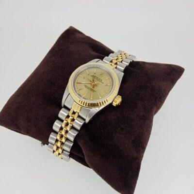 Relógio de Pulso Feminino Rolex Oyster Perpetual