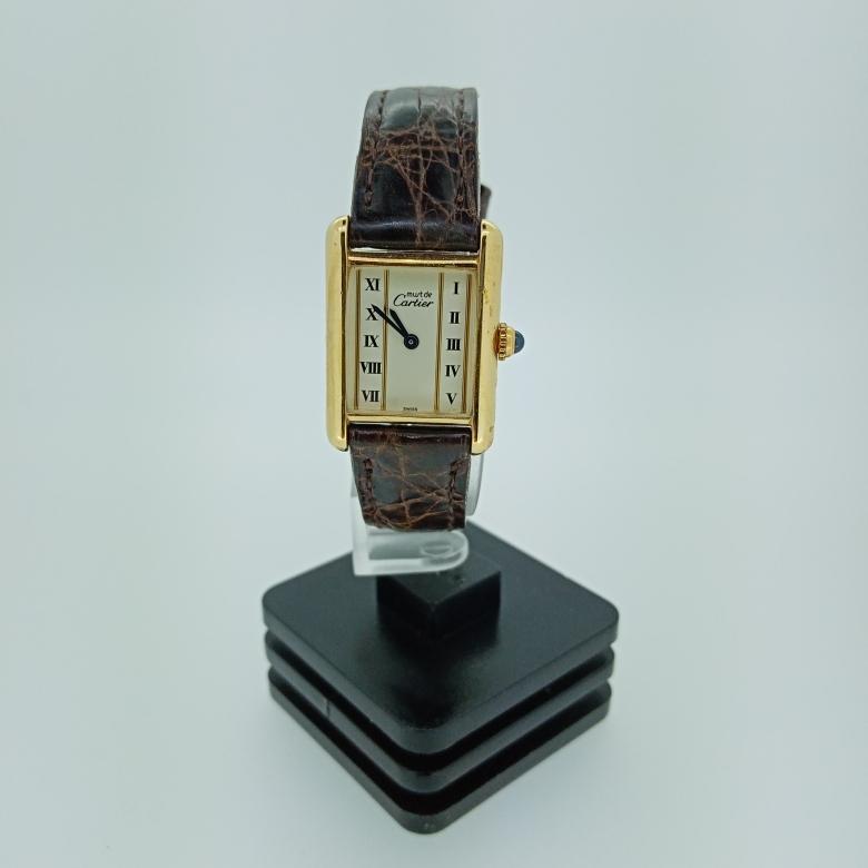 Relógio de Pulso Tank Must de Cartier