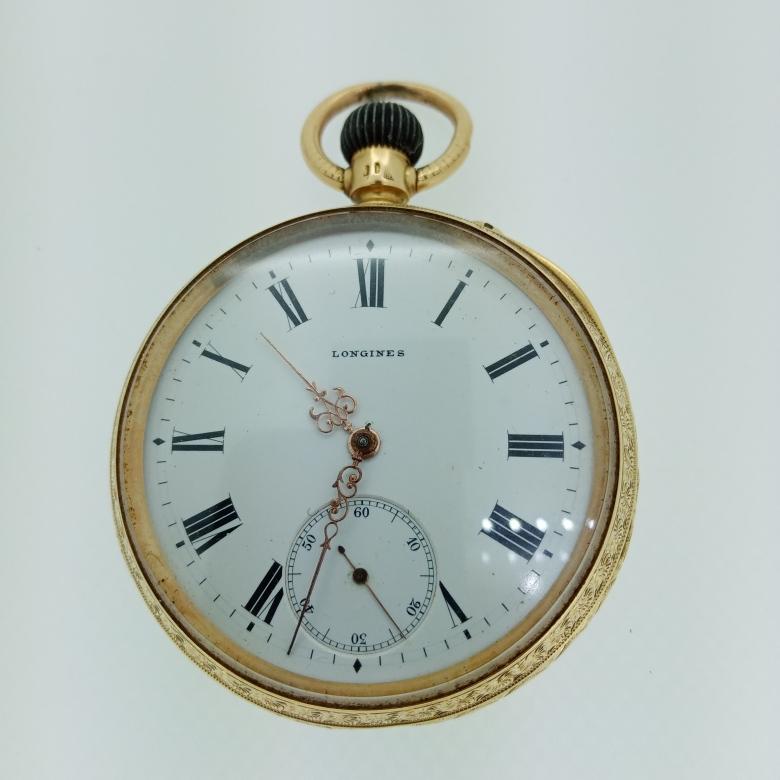 Relógio de Bolso em Ouro LONGINES