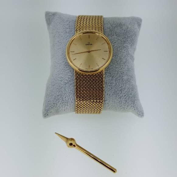 Relógio de Pulso em Ouro Omega