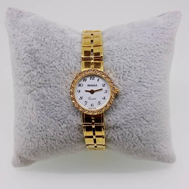 Relógio de Pulso Feminino ArtejóiA em Ouro