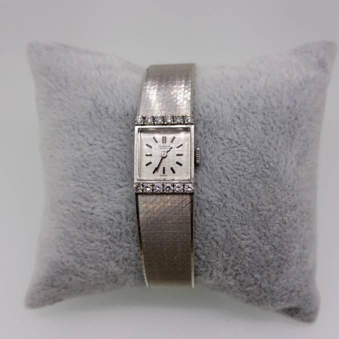 Relógio de Pulso Feminino IWC Ouro e Joalharia