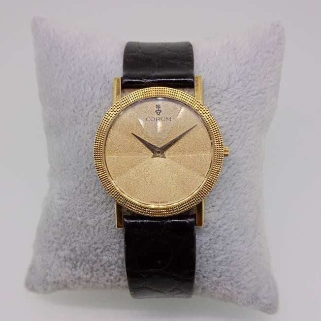 Relógio de Pulso CORUM Gold Prism Crystal em Ouro