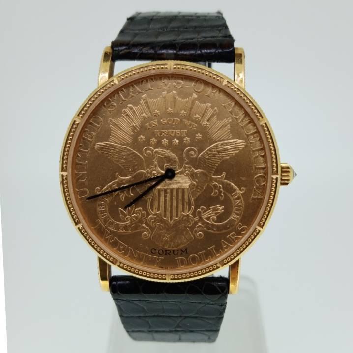 Relógio de Pulso 20 CORUM Twenty Dollars Gold Coin